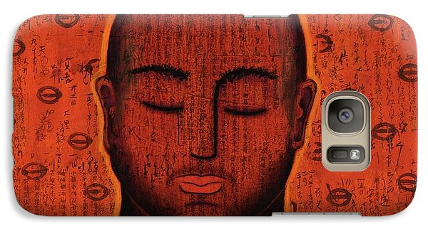Galaxy Case featuring the mixed media Spacious Awareness by Gloria Rothrock