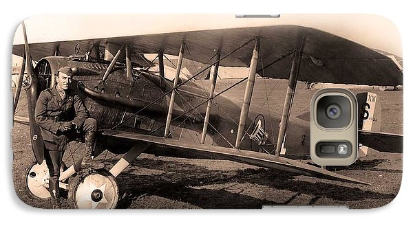 Galaxy Case featuring the photograph French Spad Xiii 1918 by US Signal Corp