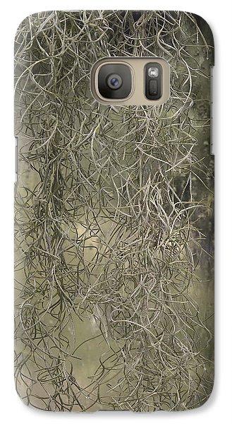 Galaxy Case featuring the photograph Spainish Moss by Viktor Savchenko