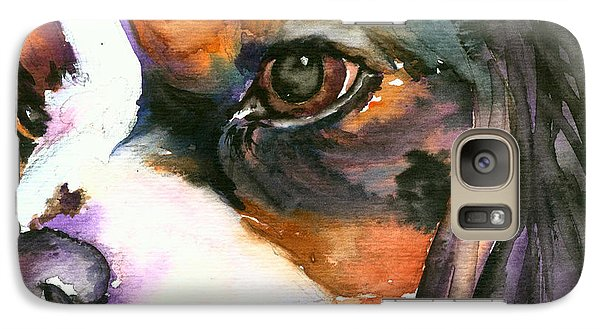 Galaxy Case featuring the painting Spaniel by Christy Freeman