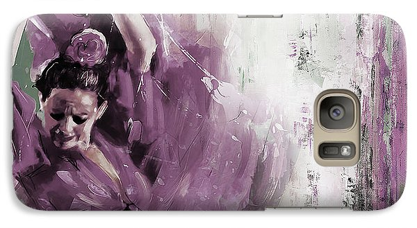 Galaxy Case featuring the painting Spanish Woman Dance  by Gull G