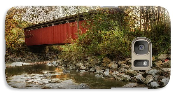 Galaxy Case featuring the photograph Spanning Across The Stream by Dale Kincaid