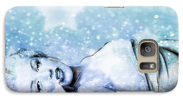 Galaxy Case featuring the digital art Sparkle Queen by Greg Sharpe