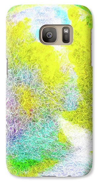 Galaxy Case featuring the digital art Sparkling Pathway - Trail In Santa Monica Mountains by Joel Bruce Wallach