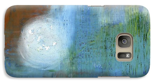 Galaxy Case featuring the painting Sparkling Sun-rays by Michal Mitak Mahgerefteh