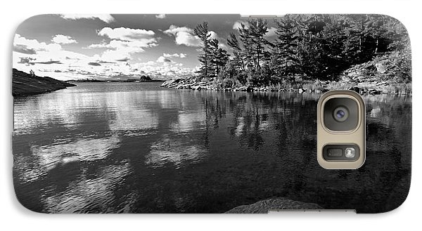 Galaxy Case featuring the photograph Clouds In Georgian Bay by Charline Xia