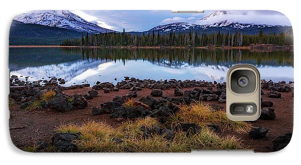 Galaxy Case featuring the photograph Sparks Lake by Cat Connor