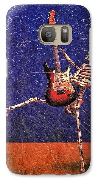 Galaxy Case featuring the photograph Sparky by Jeff Gettis