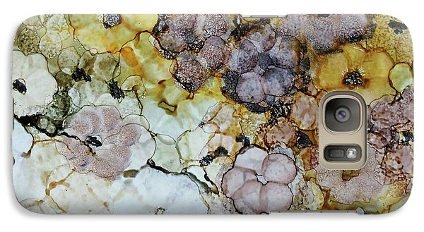 Galaxy Case featuring the painting Spash Of Sunshine by Joanne Smoley