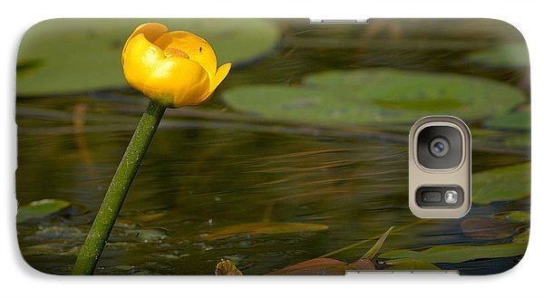 Galaxy Case featuring the photograph Spatterdock by Jouko Lehto