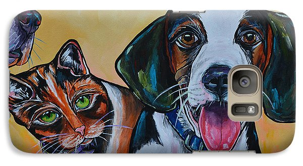 Galaxy Case featuring the painting Spay And Neuter by Patti Schermerhorn