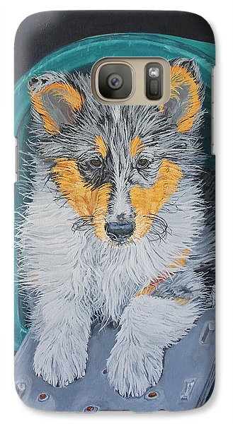 Galaxy Case featuring the painting Special Delivery by Wendy Shoults