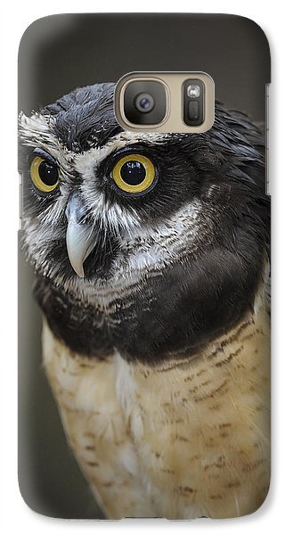 Galaxy Case featuring the photograph Spectacled Owl by Tyson and Kathy Smith