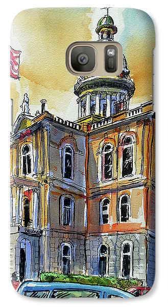 Galaxy Case featuring the painting Spectacular Courthouse by Terry Banderas