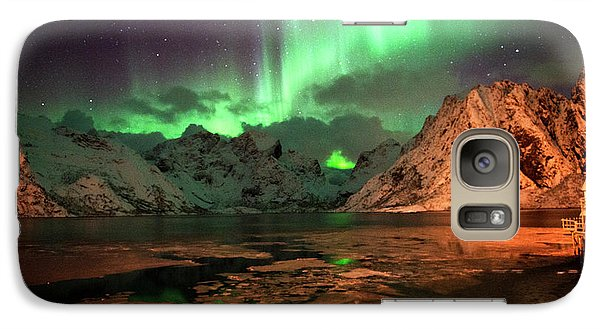 Spectacular Night In Lofoten 1 Galaxy S7 Case