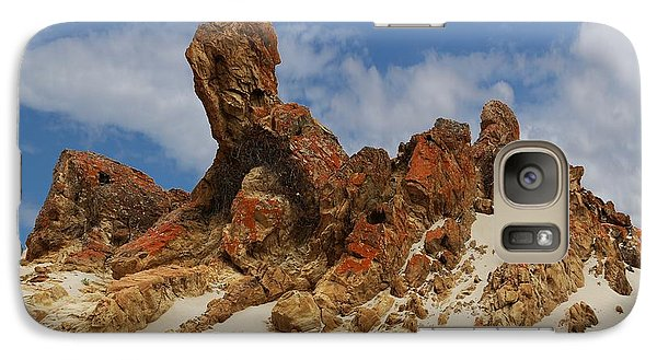 Galaxy Case featuring the photograph Sphinx Of South Australia by Stephen Mitchell