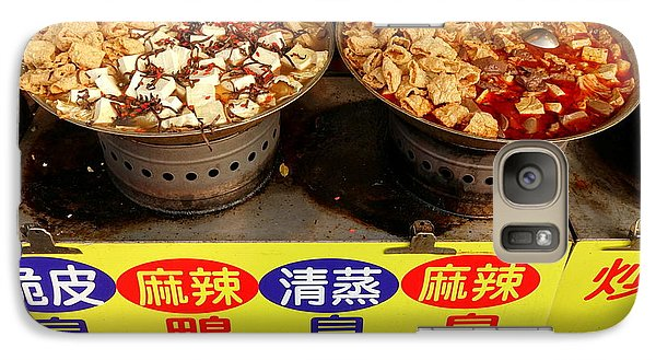 Galaxy Case featuring the photograph Spicy And Herbal Hot Pot Food by Yali Shi
