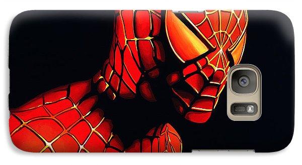 Realistic Galaxy S7 Case - Spiderman by Paul Meijering