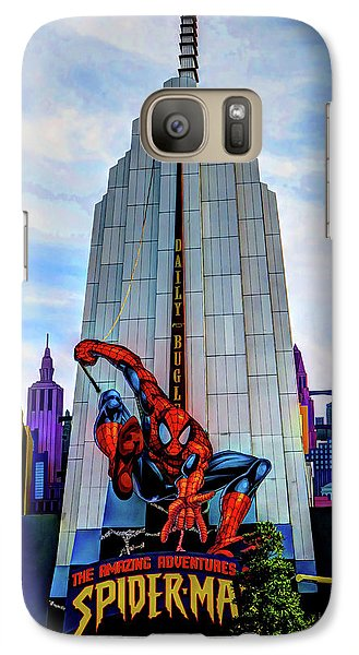Galaxy Case featuring the photograph Spiderman by Tom Prendergast