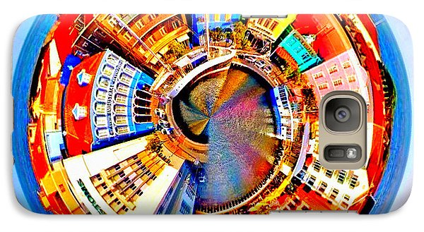 Galaxy Case featuring the photograph Spin City by Kathy Kelly