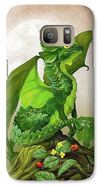 Spinach Dragon Galaxy S7 Case