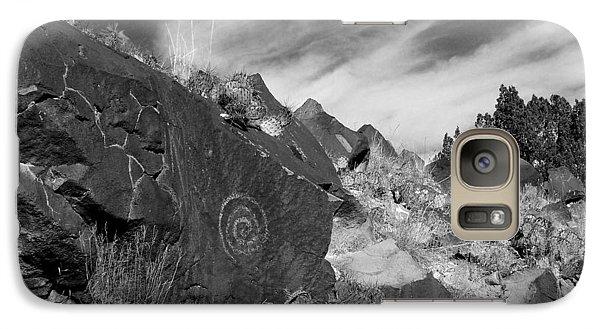 Spiral Petroglyph Galaxy S7 Case