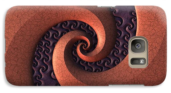 Galaxy Case featuring the digital art Spiralicious by Lyle Hatch