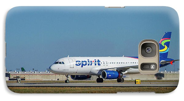Galaxy Case featuring the photograph Spirit Airlines Airbus A320 N608nk Airplane Art by Reid Callaway