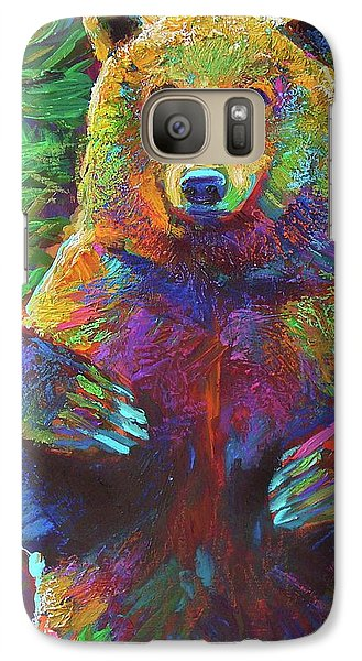 Galaxy Case featuring the painting Spirit Bear by Robert Phelps