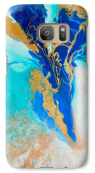 Galaxy Case featuring the painting Spirit Dancer by Irene Hurdle