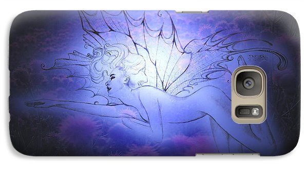 Galaxy Case featuring the painting Spirit Fay by Ragen Mendenhall