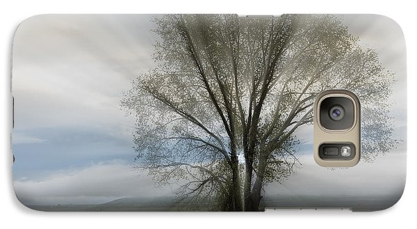Galaxy Case featuring the photograph Spirit Of Nature by Sandra Bronstein