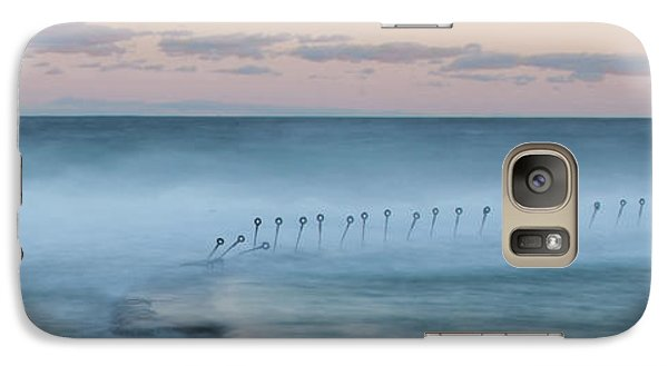 Galaxy Case featuring the photograph Spirit Of The Ocean by Az Jackson