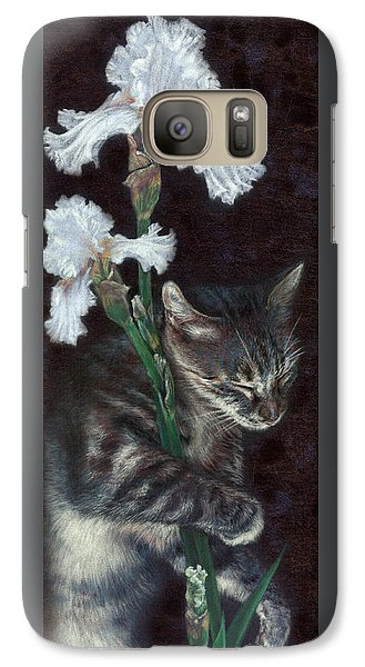 Galaxy Case featuring the painting Spirit by Ragen Mendenhall