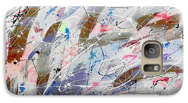 Galaxy Case featuring the painting Spirits Dancing by Patrick Morgan