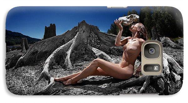 Galaxy Case featuring the photograph Spiritus Mundi by Dario Infini