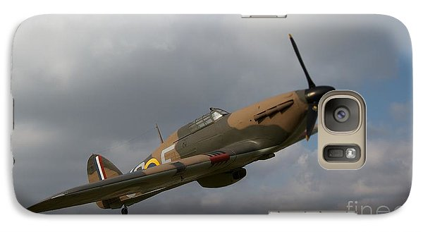 Galaxy Case featuring the photograph Spitfire by Gary Bridger