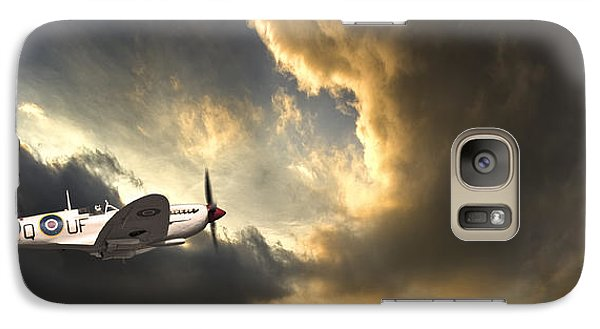 Airplanes Galaxy S7 Case - Spitfire by Meirion Matthias