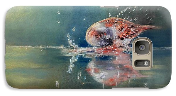 Galaxy Case featuring the painting Splash by Ceci Watson
