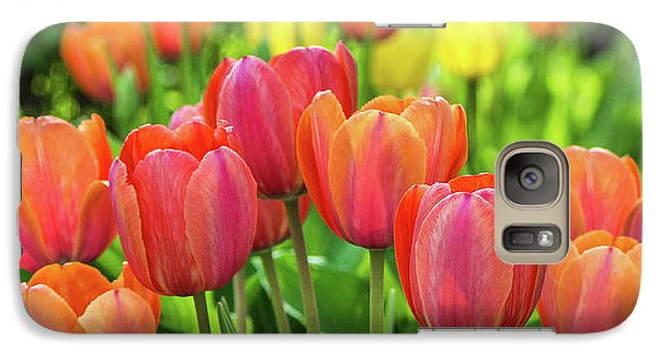 Splash Of April Color Galaxy S7 Case by Bill Pevlor