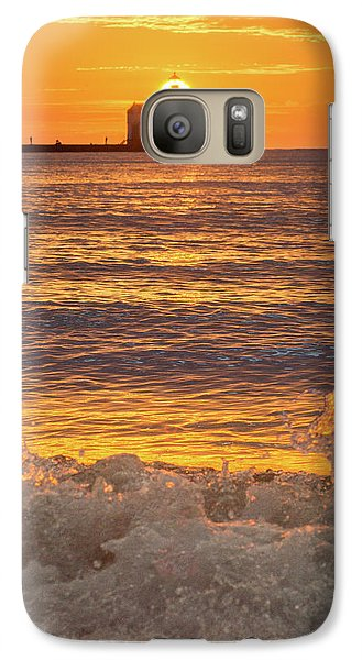 Galaxy S7 Case featuring the photograph Splash Of Light by Bill Pevlor