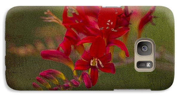 Splash Of Red. Galaxy S7 Case