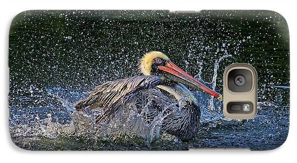 Galaxy Case featuring the photograph Splish Splash by HH Photography of Florida