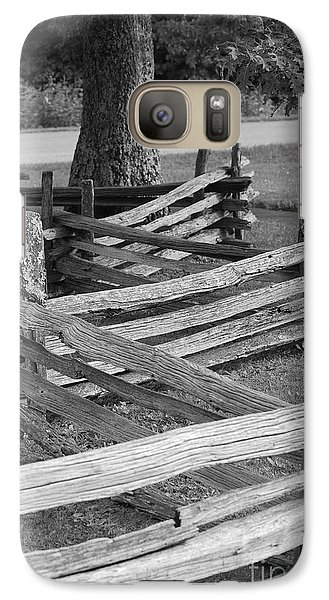 Galaxy Case featuring the photograph Split Rail Fence by Eric Liller