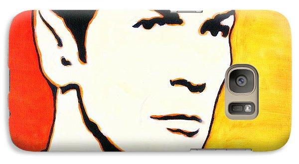 Galaxy Case featuring the painting Spock Vulcan Star Trek Pop Art by Bob Baker