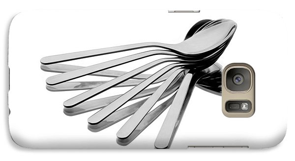Galaxy Case featuring the photograph Spoon Fan by Gert Lavsen