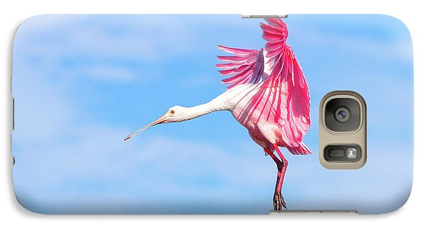 Spoonbill Ballet Galaxy S7 Case by Mark Andrew Thomas