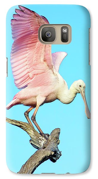 Spoonbill Flight Galaxy S7 Case