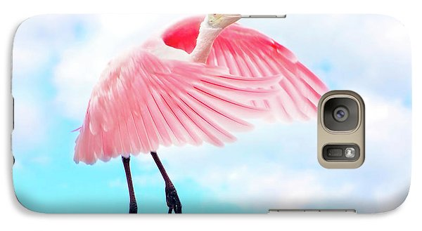 Spoonbill Launch Galaxy S7 Case by Mark Andrew Thomas