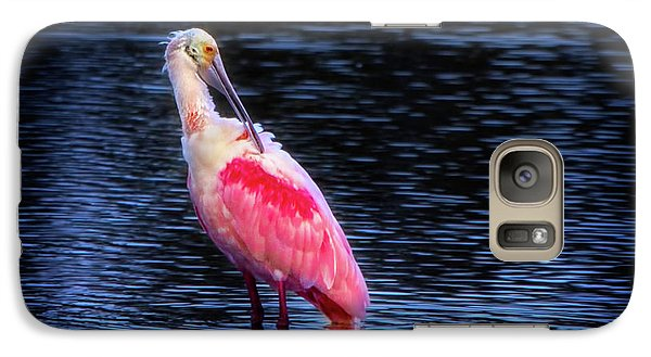 Spoonbill Sunset Galaxy S7 Case by Mark Andrew Thomas